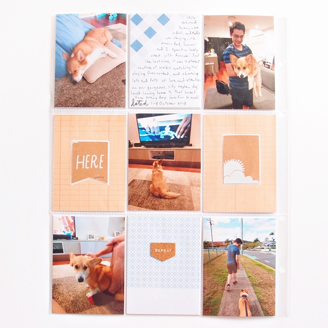 all the little happy things - Project Life 2018 - October